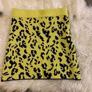 Zara knit mini skirt
